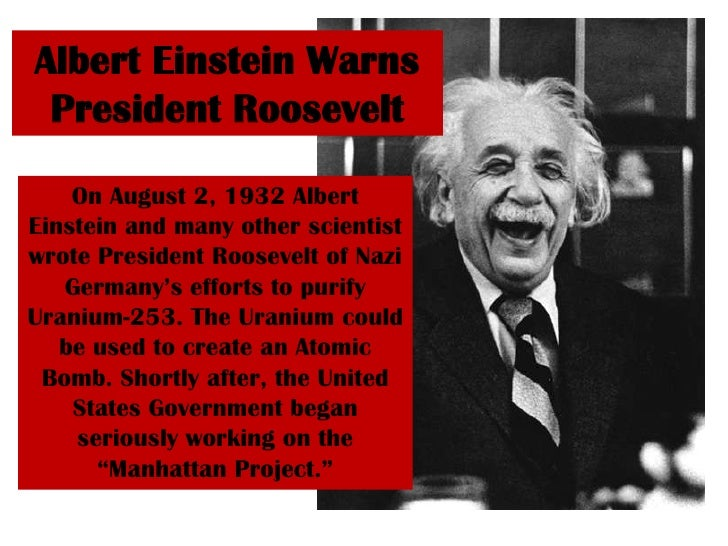 """the invention of atomic bomb by albert einstein Home military history albert einstein and the atomic bomb albert einstein and the atomic bomb """"i am curious,"""" he wrote to his son hans albert."""