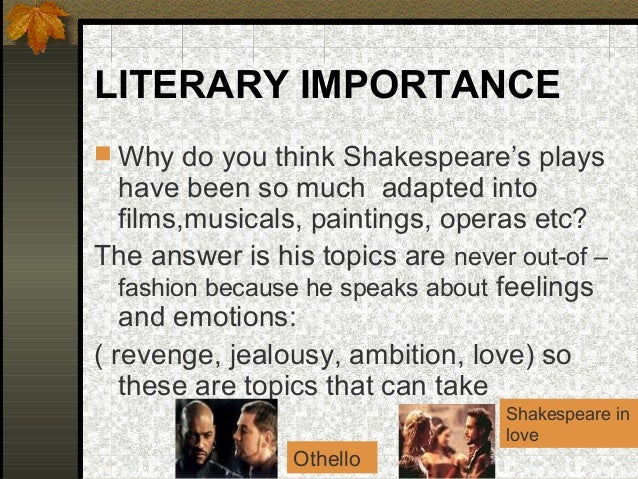 Race and Discrimination in 'Othello' by William Shakespeare