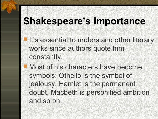 the significance of language in othello Discussion questions from act 1 of othello  what sort of language does othello  use what might be the significance of this difference.