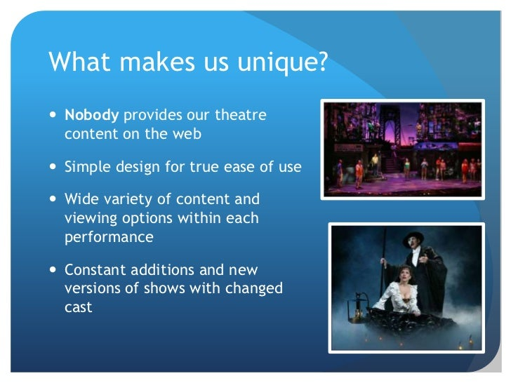 theater business plan