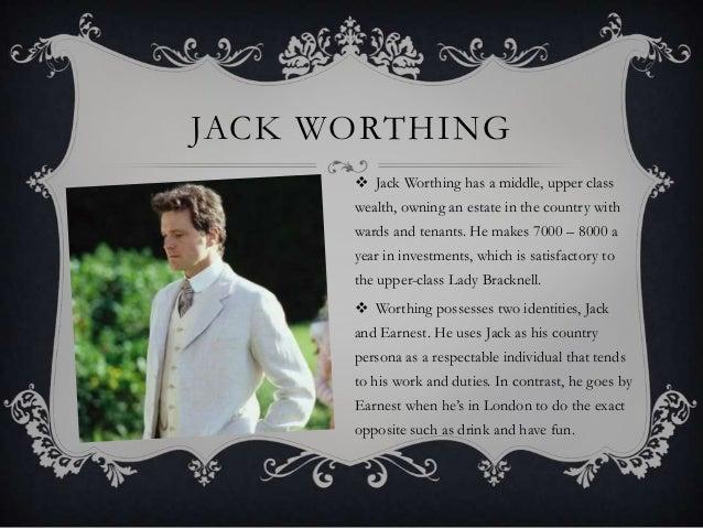 jack worthing