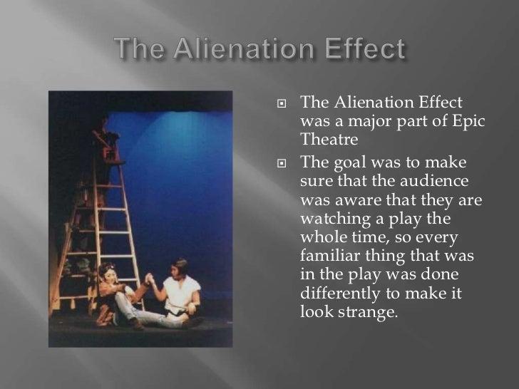 Alienation effect