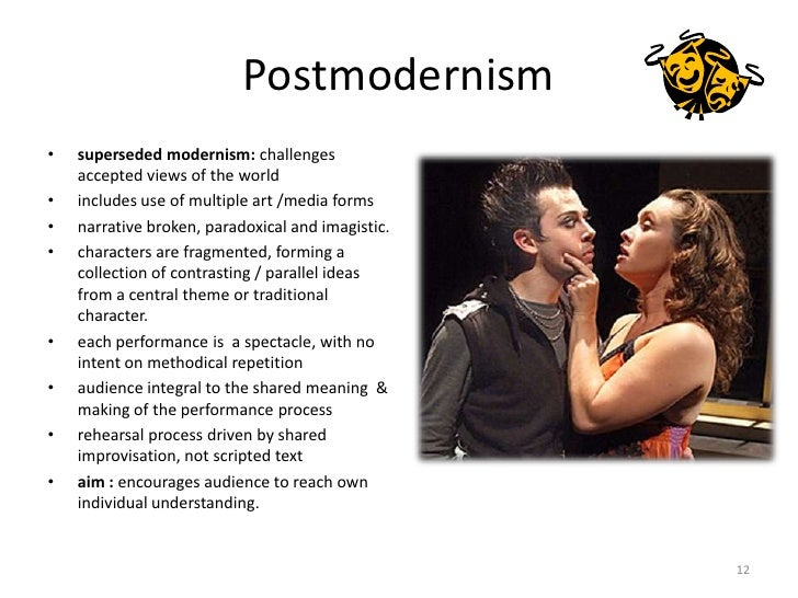 Postmodern Performance – Opposing The Aesthetic (An Introduction)