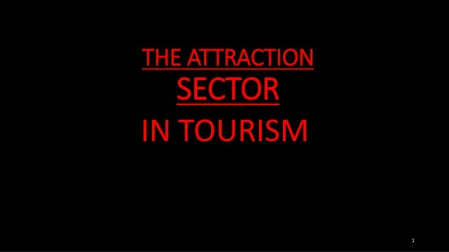THE ATTRACTION SECTOR IN TOURISM 1