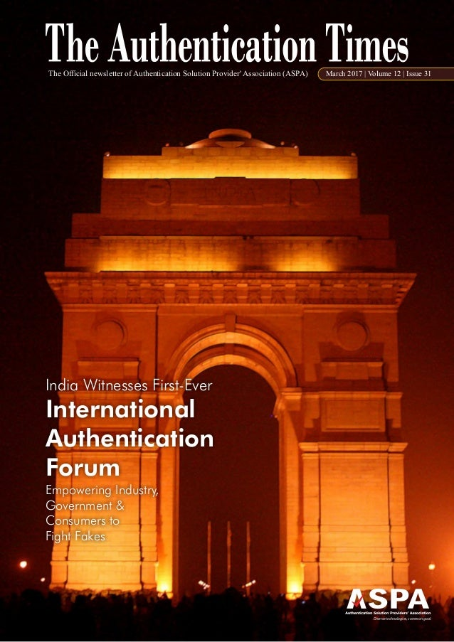 India Witnesses First-Ever International Authentication Forum Empowering Industry, Government & Consumers to Fight Fakes T...