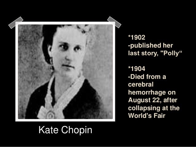 a response to the awakening by kate chopin Edna's failure to mature - suicide in chopin's the awakening as neither an inevitable nor triumphant response to societal pressures.