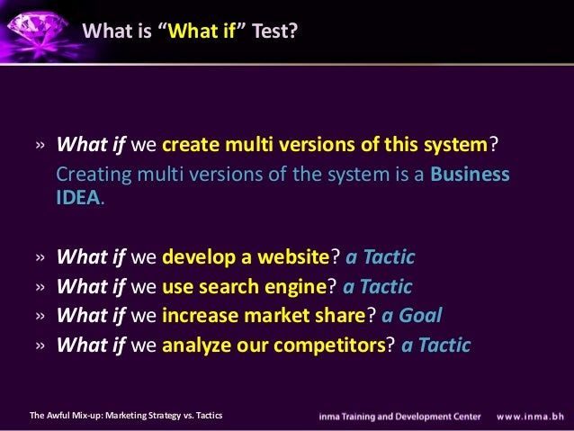 """What is """"What if"""" Test? » What if we create multi versions of this system?   Creating multi versions of the system is a Bu..."""