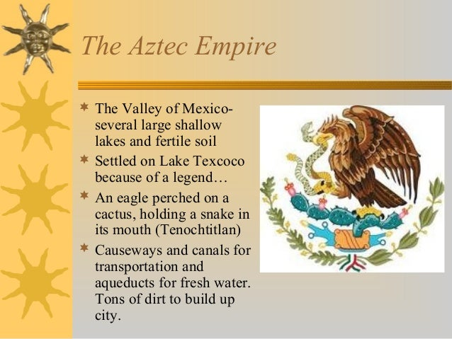The aztec and inca empire environment