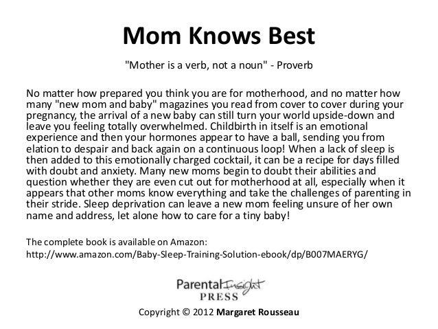 the baby sleep solution pdf