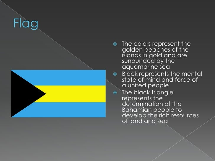 What The Bahamas Flag Means