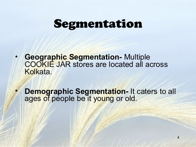 bakery segmentation Kemin food technologies market segments today's marketplace the food and beverage market becomes more competitive every day furthermore, consumers have never been savvier or had more information at their fingertips— regarding their food choices these factors create complex challenges for food and.