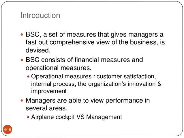 the balanced scorecard measures that drive performance pdf