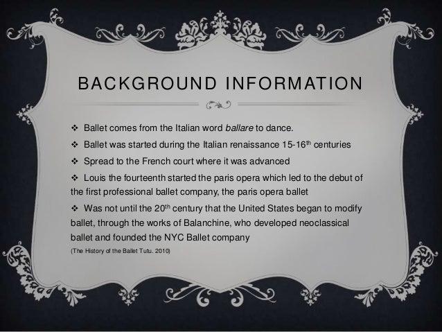 The Ballet Tutu Slide 2