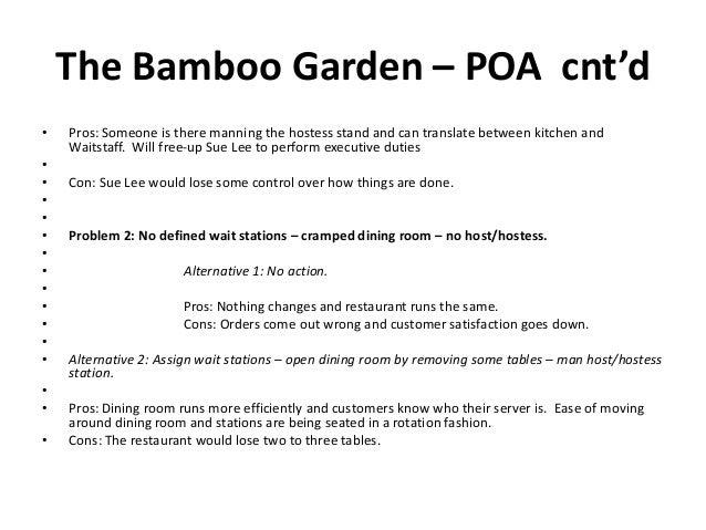 The Bamboo Garden Case Sp
