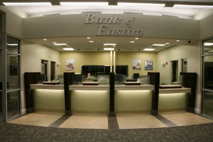 The bank of easton interior photos for Interior designs photos