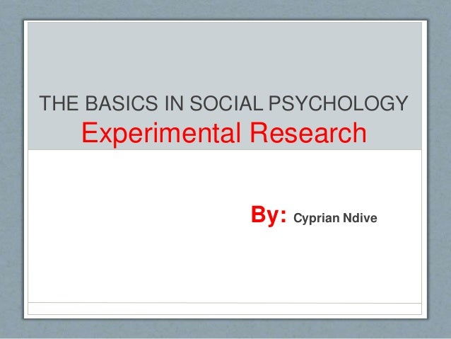 scope of experimental psychology essay Scope of experimental psychology: the scope of experimental psychology is widening with the invention of new tools and instruments for experiments therefore, it is in the fitness ofshow more content.