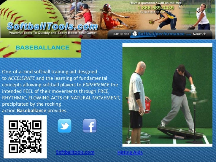 One-of-a-kind softball training aid designedto ACCELERATE and the learning of fundamentalconcepts allowing softball player...