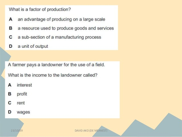 basic economic problem essays Tisfied with the quality and quantity of goods and services they have, and they always want more but the nature has finite resources at any given point in ti.