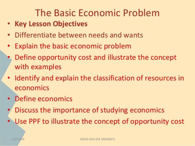 basic economic problem essay What are the central problems of an as the central problems or the basic problems of an economy this is so because all other economic problems cluster around.