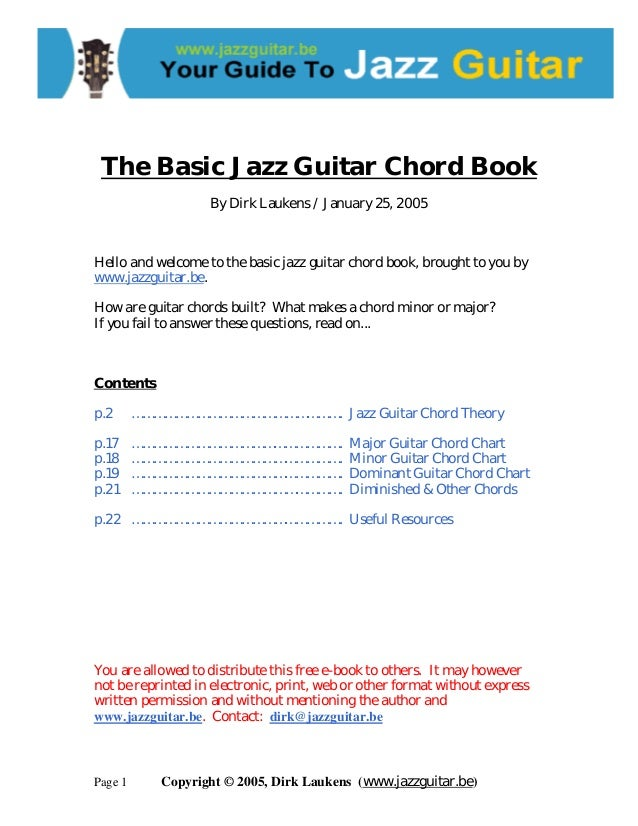 The basic jazz_guitar_chord_book