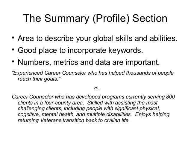 what goes in a resume - Ideal.vistalist.co