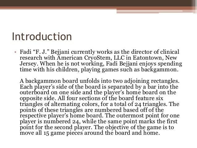 Basic Backgammon Rules
