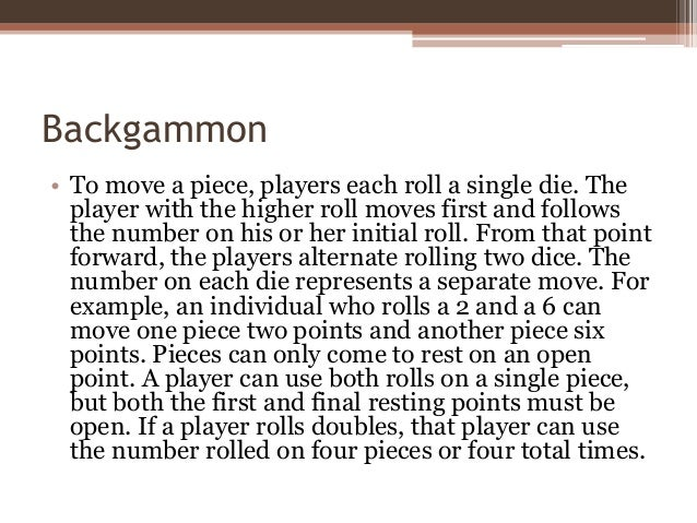 Fan image with printable backgammon rules