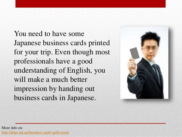 The basics of business card etiquette in japan 5 you need to have some japanese business cards reheart Gallery