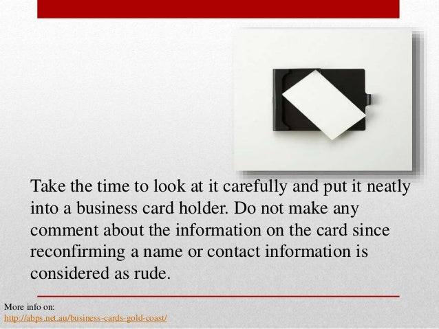 The basics of business card etiquette in japan take reheart Image collections