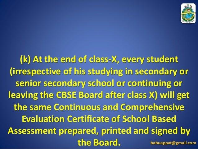 CBSE Grading System
