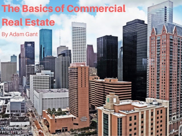 TheBasicsofCommercial RealEstate By Adam Gant