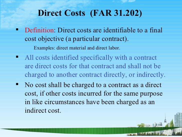 how to find direct labours costs