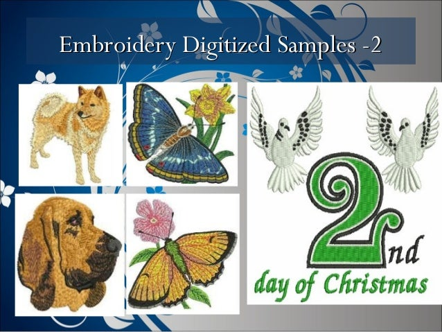 Embroidery Digitized Samples -2Embroidery Digitized Samples -2