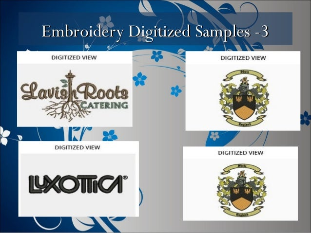 Embroidery Digitized Samples -3Embroidery Digitized Samples -3