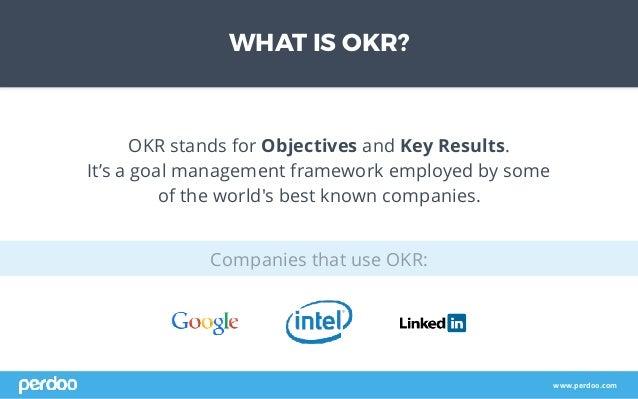 The Basics of OKR Slide 2