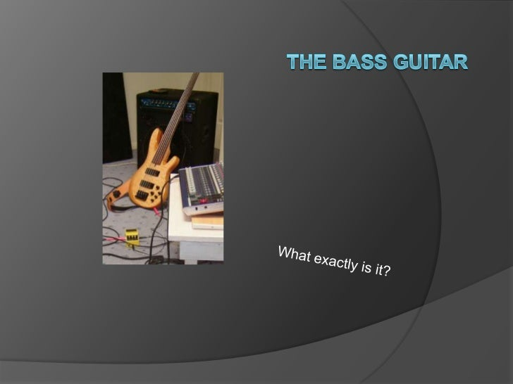    The Bass guitar is a similar but    different thing from a regular guitar.