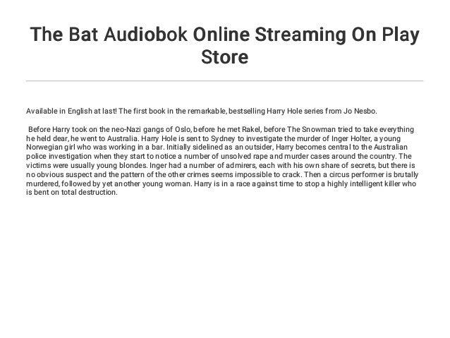 Bat Stream