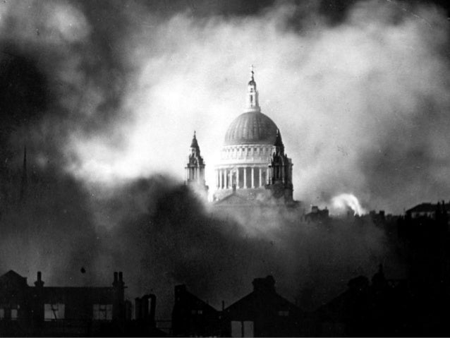 Herbert Mason's iconic photograph of St Paul's dome emerging from the smoke of raging fires in surrounding streets was tak...