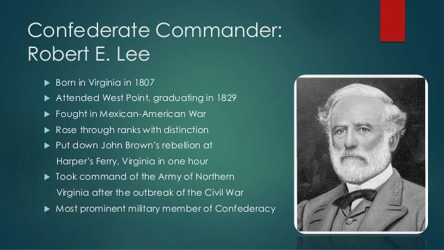 a biography of general robert e lee a briliant military leader Military leadership essay examples a biography of general robert e lee a briliant military leader the life of benedict arnold and military leadership of.