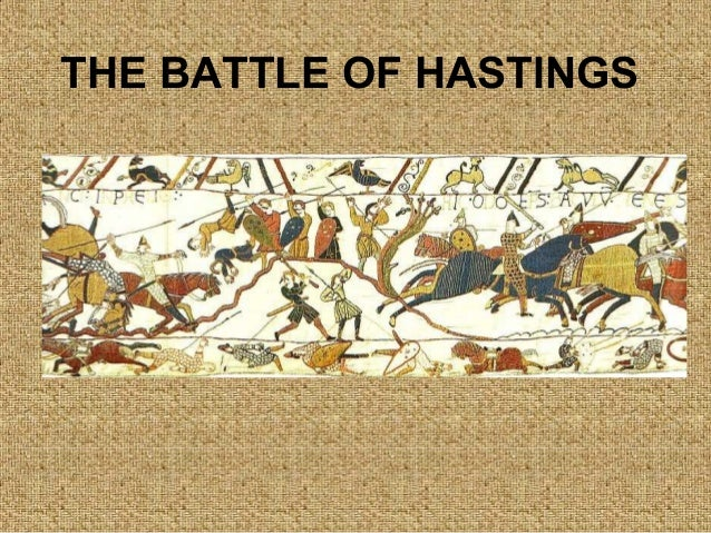 essay on the battle of hastings 1066 When king harold of england faced duke william of normandy on the 14th october 1066, they both used different tactics to try to win the battle of hastings harold had positioned his 7000 strong anglo-saxon army on the high ground at the top of a ridge his army fought on foot and formed a defensive .
