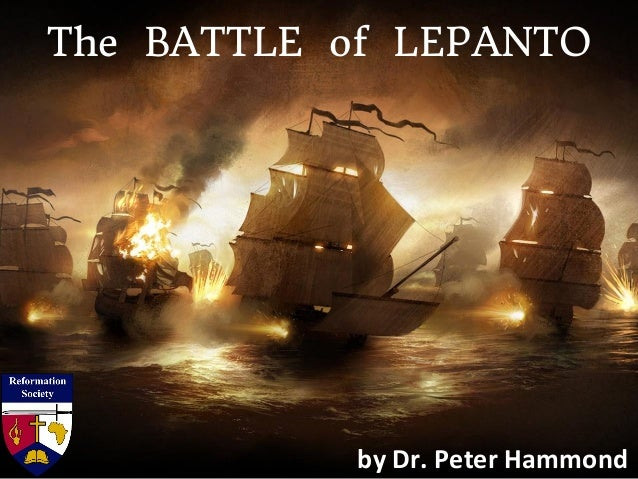 The Battle of Lepanto Slide 3