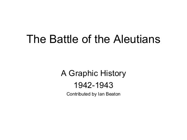 The Battle of the Aleutians      A Graphic History         1942-1943        Contributed by Ian Beaton