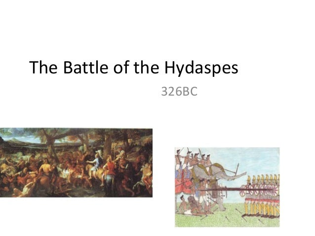 The Battle of the Hydaspes 326BC