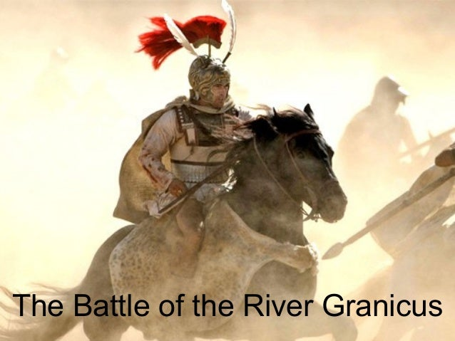 The Battle of the River Granicus