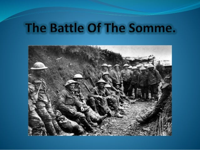 was the battle of the somme a success essay