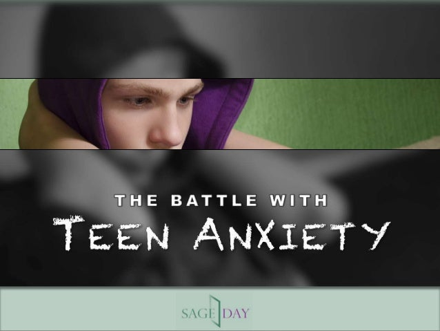 The Battle with Teen Anxiety - 웹