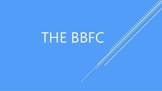 THE BBFC