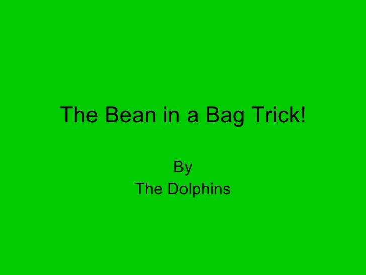 The Bean in a Bag Trick! By The Dolphins
