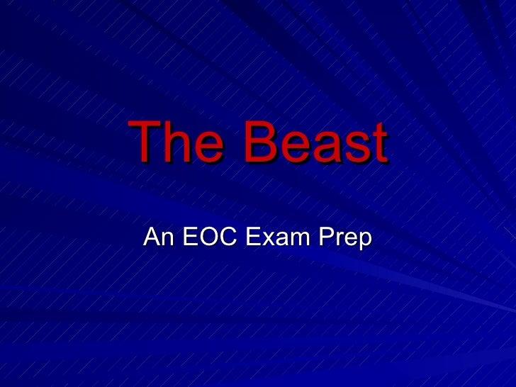 The Beast An EOC Exam Prep