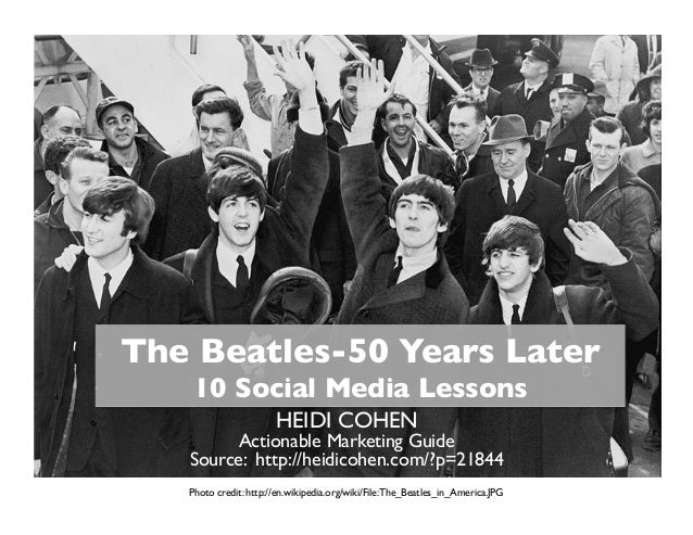 The Beatles-50 Years Later